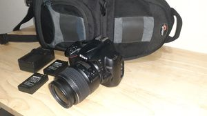 Nikon D5000 with 18-55 mm lens, video for Sale in Tampa, FL