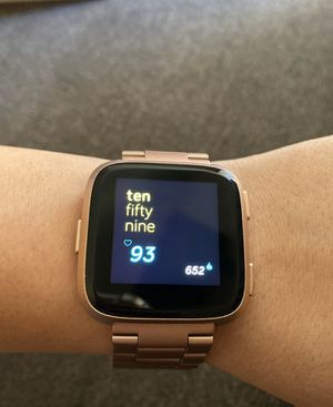 Fitbit Versa Rose Gold for Sale in Henderson, NV