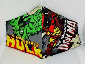 """ BRAND NEW "" MARVEL COMICS MASKS!!!! HAND MADE ( 3 LAYER - 100 % COTTON ). AMAZING DETAIL !! ( * WILL FIT KIDS * ) !! - $20 EACH !!! for Sale in Kissimmee, FL"