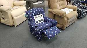 Officially licenced NFL and MLB kids recliners for Sale in Hightstown, NJ