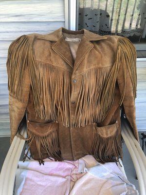 Buckskin leather jacket for Sale in Salem, NJ