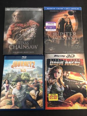 Blu-Ray 3D movies for Sale in El Monte, CA