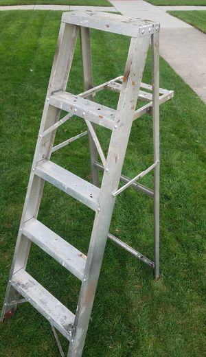 5 foot aluminum a frame ladder for Sale in Chicago, IL
