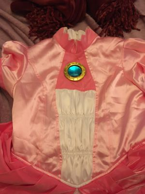 Princess Peach Dress W Petticoat for Sale in Irving, TX