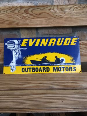 Evinrude outboard motors sign for Sale in Camdenton, MO