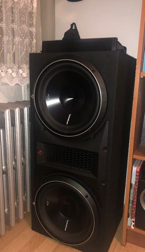 Rockford 12x2 P3 2400W subwoofer for Sale in Brooklyn, NY