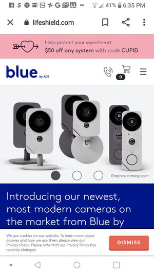 Blue Home Security System for Sale in Memphis, TN