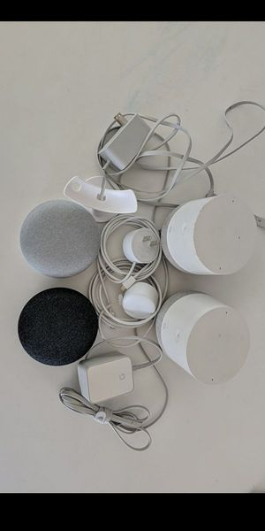 4 google home devices for Sale in Torrance, CA