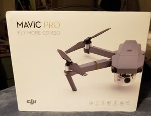 LOWERED PRICE!!! MAVIC PRO FLY MORE COMBO! BRAND NEW IN BOX! for Sale for sale  Newark, NJ