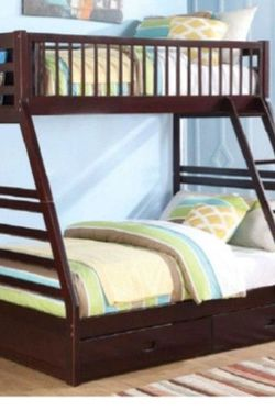 Bunk Bed- Twin/queen for Sale in Henderson,  NV