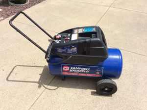 Campbell Hausfeld WL6501 13-gallon air compressor, works great for Sale in Baden, PA