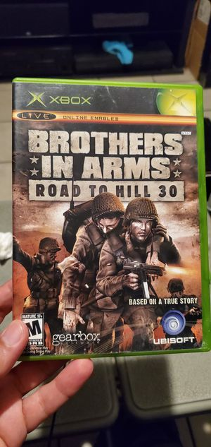 BROTHER IN ARMS ROAD TO HILL 30..ORIGINAL XBOX GAME for Sale in Los Angeles, CA