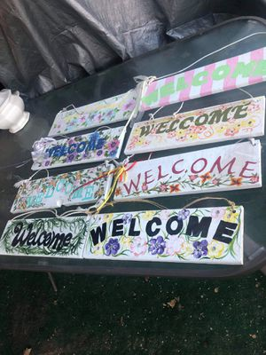Welcome signs for Sale in Madera, CA