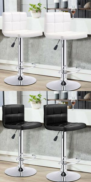 """New in box $40 each barstool bar counter height adjustable 24"""" to 33"""" high chair stool kitchen counter furniture for Sale in Montebello, CA"""