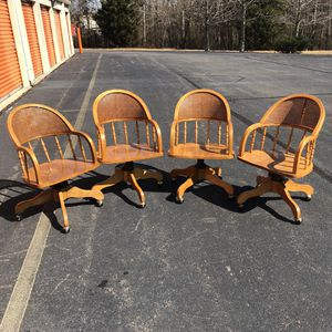 Ashley Cane Back Chairs for Sale in Woodbridge, VA