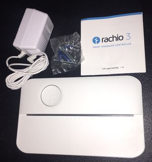 Racho 3 WiFi smart lawn sprinkler controller works with Alexa 8-zone for Sale in Las Vegas, NV