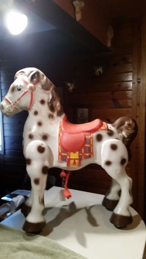 1950s mobo ride on children toy horse for Sale in Saint Anthony, IA