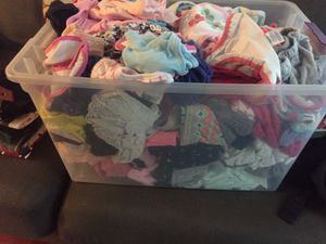 Baby girl clothes size newborn, 3 months, 6 months for Sale in Cheverly, MD