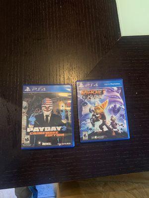 PS4 games for Sale in Chula Vista, CA