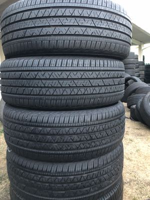 Continental cross contact 245/50/20 set of 4 tires for Sale in Stockton, CA