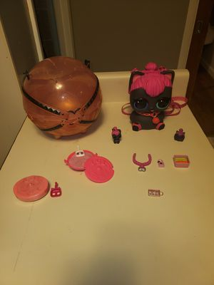 LOL DOLL PIGGY BANK with accessories for Sale in Everett, WA