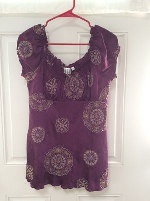 SALE! Brand new Purple Embroidered women shirt, clothing for Sale in Marshfield, MA