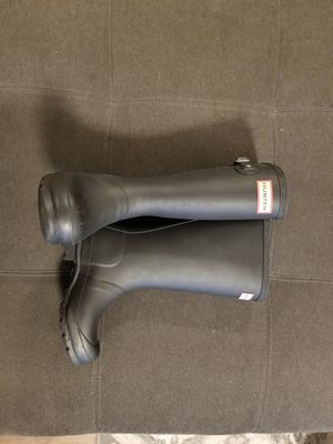 Authentic Hunter Size 2 tall matte rain boots. Barely used. for Sale in Lacey, WA