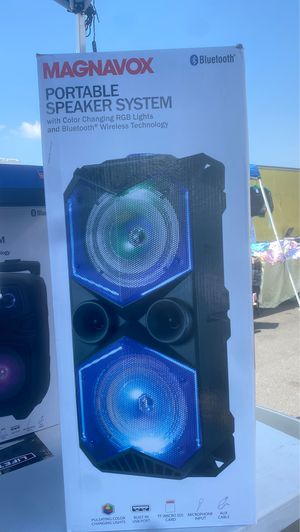 MAGNAVOX PORTABLE SPEAKER SYSTEM for Sale in Los Angeles, CA
