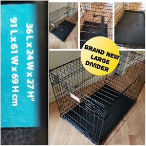 Brand new large dog crate for Sale in Hillsborough, NC