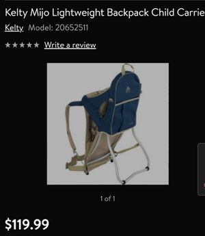 $20 Kelty Kids carrier backpack for hiking for Sale in Vancouver, WA