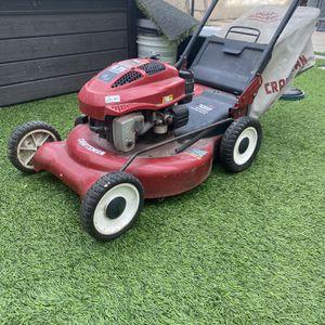 Craftsman Gas mulcher Lawnmower - Good Mower for Sale in Huntington Beach, CA