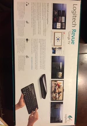 Logitech Revue Google TV for Sale in Oviedo, FL