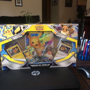 Pokémon Pikachu Gx & Eevee Gx for Sale in Cleveland, OH
