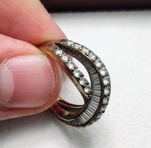 Vintage Stirling Silver Ring with Cubic Zirconia for Sale in Heathrow, FL