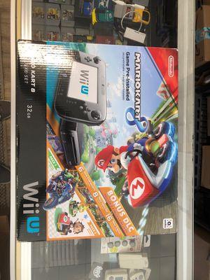 Nintendo Wii U Mario kart 8 bundle complete I box for Sale in Skokie, IL