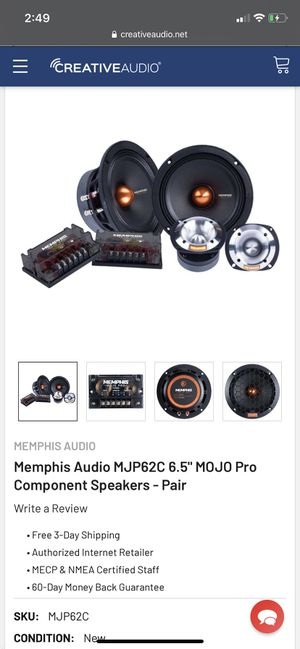 Memphis audio pro used for 1 month for Sale in Houston, TX