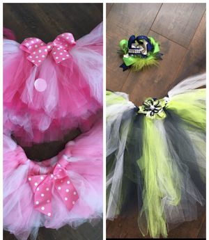 Tutu Minnie Mouse and Seahawks for Sale in Roy, WA