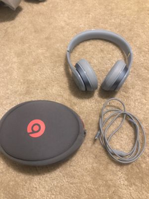 Beats Solo 2 Wired by Dr. Dre-Sky Blue for Sale in Brentwood, TN