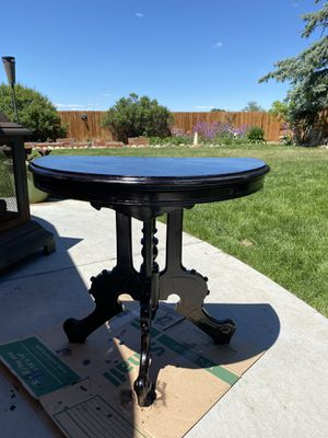 Antique Victorian Half Moon Table for Sale in Westminster, CO
