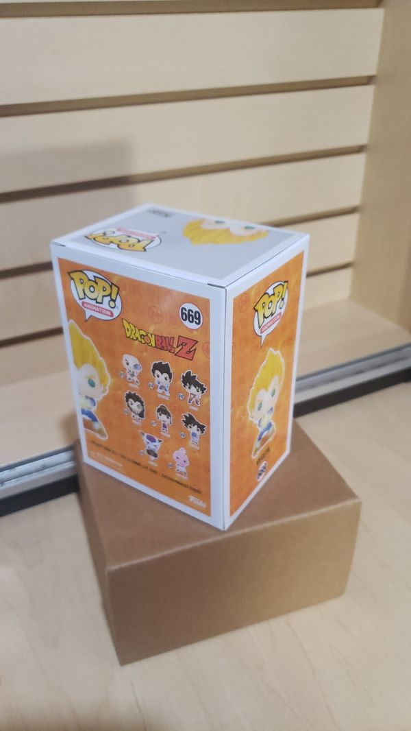 Vegeta 669 Funko Pop! Animation Dragonball Z - NYCC 2019 Shared HotTopic Exclusive