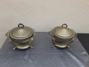 A pair of chafing dishes for Sale in Piedmont, CA
