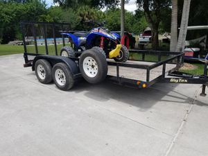 Trailer and four wheeler for Sale in Fellsmere, FL