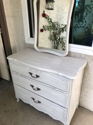 Gorgeous dresser/vanity with mirror for Sale in Clovis, CA