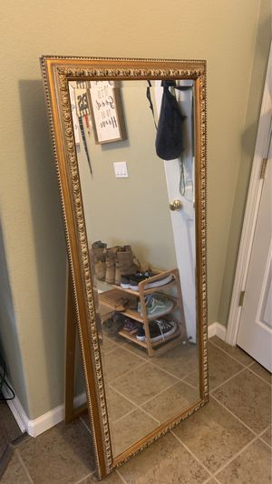 Full length stand alone mirror for Sale in Sacramento, CA