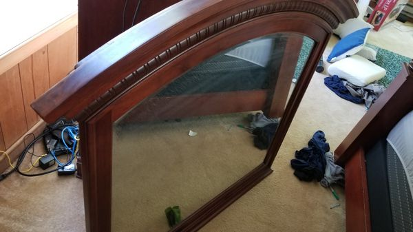 Chest, Dresser, Mirror, Queen Bed