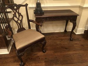 Antique writing desk and chair for Sale in Mableton, GA