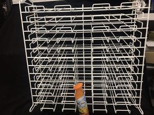 Paper shelving unit , craft stationary scrap book shelving for Sale in North Arlington, NJ