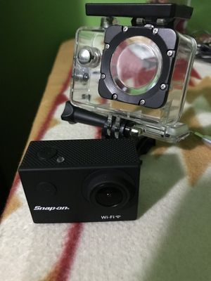 Snap on 4k action camera for Sale in Washington, DC