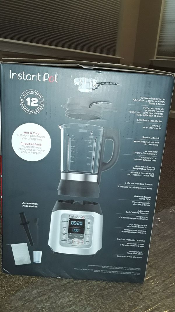 Instant Pot Muti-Use Cooking & Beverage Blender