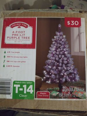 4ft Pre-lit Christmas Tree for Sale in Indianapolis, IN
